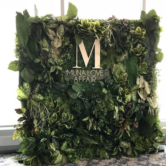 Tropical Green Wall