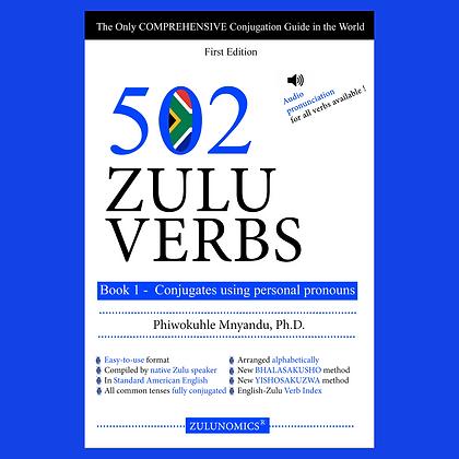 502 Zulu Verbs: Book I- Conjugate using personal pronouns