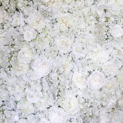 White Flower Wall