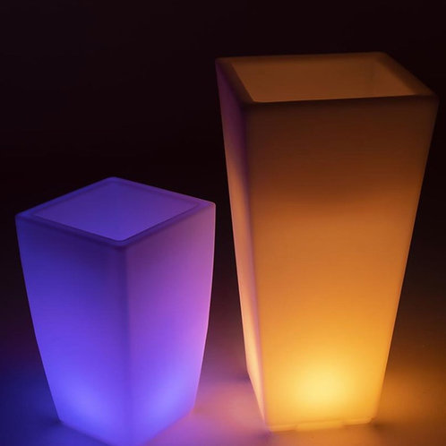 Tall LED Planters