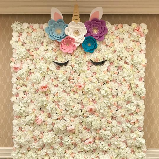 Blush Flower Wall
