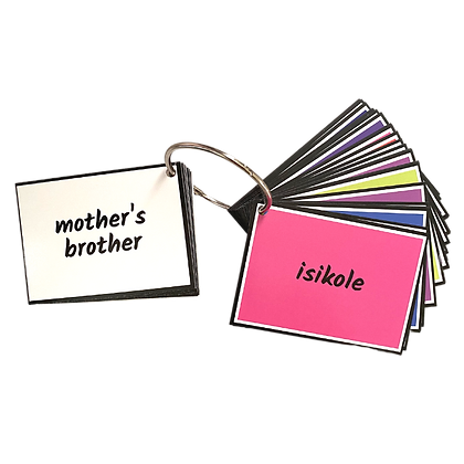 Flashcards- People, Work, School