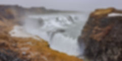 Gullfoss - the 'golden falls'