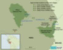 Peru trip map