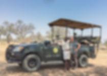 Shenton safari vehicle