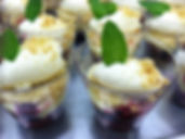 Catering Photo MXED BERRY TRIFLE
