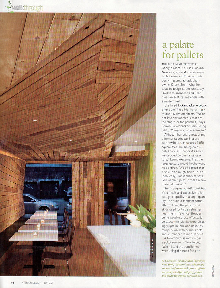 Cheryl's Global Soul Interior Design Magazine Article