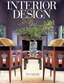 Cover of Interior Deign Magazine June 2007 issue