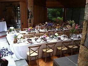 Catering Photo Wedding set up