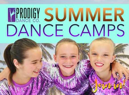 2019 Summer Camps Announcement