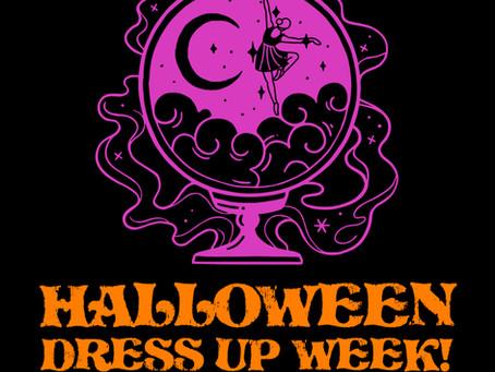 Halloween Dress Up Week!