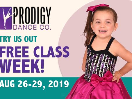 2019 Free Trial Class Week!
