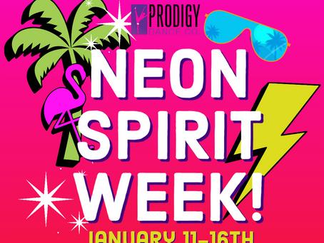 Neon Spirit Week!