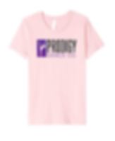 Prodigy Dance Co Logo Tee pink.png