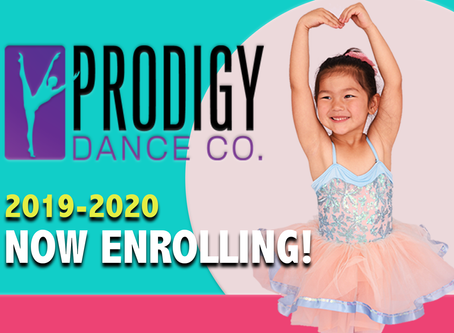 Now Registering for Our 2019-2020 Season