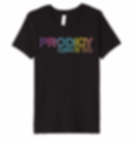 Prodigy Dance Co Black Rainbow Dancer Te