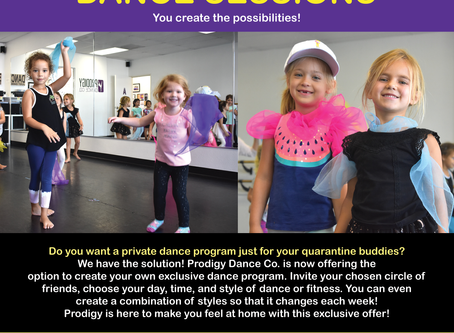 New! Private Group Dance Sessions