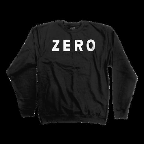 Zero Army Crew Neck Sweatshirt BLK