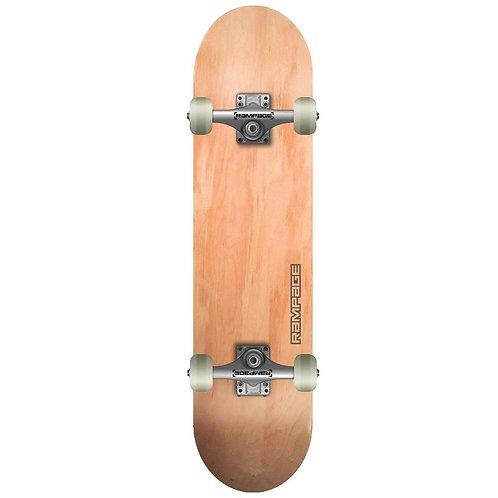 Rampage Natural Complete Skateboard