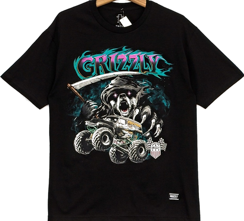 Grizzly Cave Digger Youth Tee