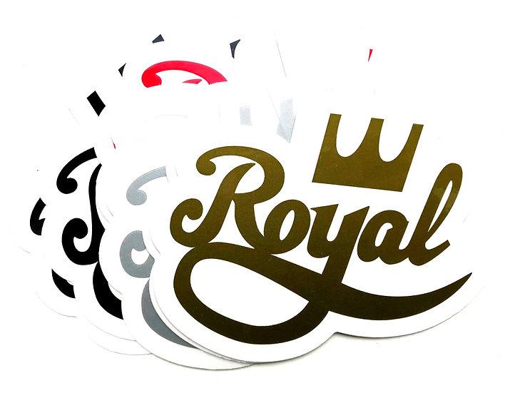 "Royal Trucks 4.5"" sticker"