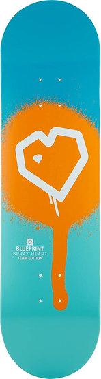 """Blueprint Spray Heart 8.375"""""""
