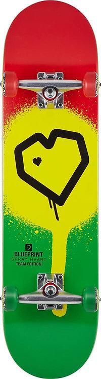 "Blueprint Spray Heart V2 8.0"" Complete"