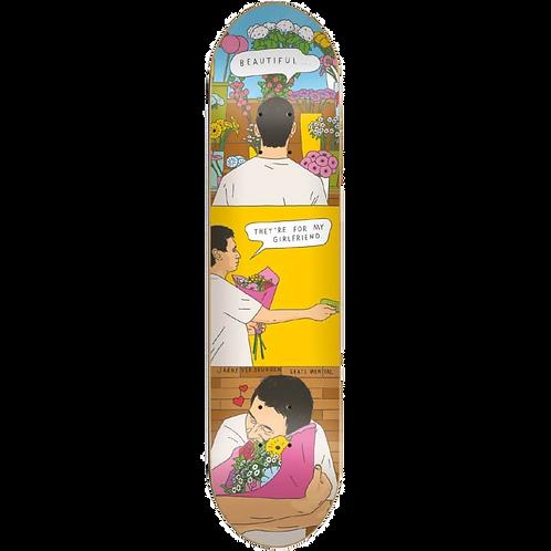 """Skate Mental Jarne Flowers 8.25"""""""