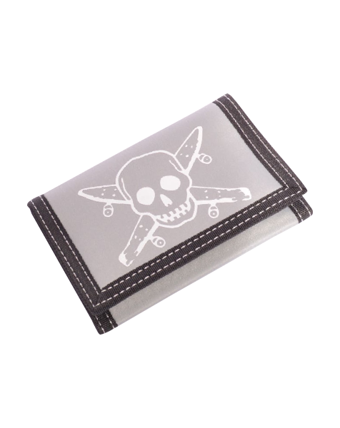 Fourstar Street Pirate Velcro Wallet