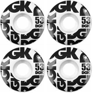 DGK Street Formula Wheels 53mm 101a