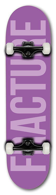 "Fracture Fade 7.75"" Complete Purple"