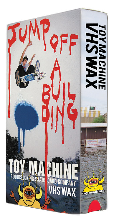 TOY MACHINE Wax(Jump of a Building)