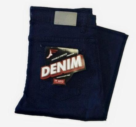 Footprint Stretch Denim 5 Pocket Jeans