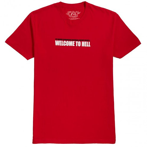Toy Machine Welcome to Hell Tee