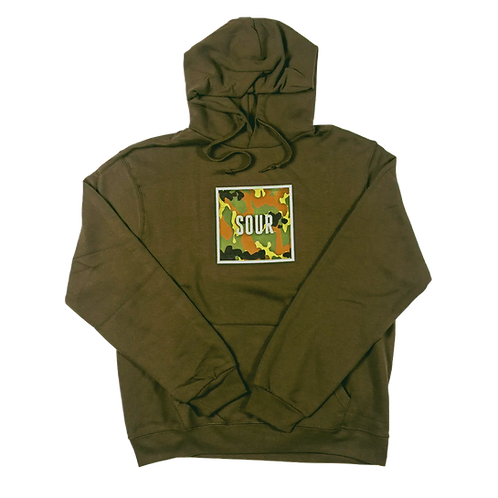 SOUR Solution Camo Box Hood Green XLG