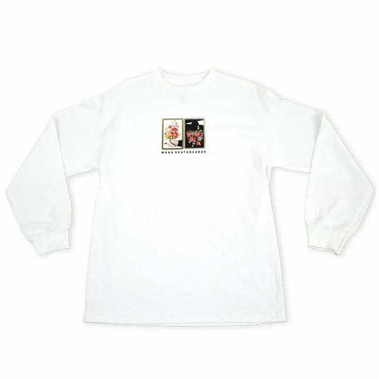 WKND Gaudy L/S Tee MED Marked Reduced