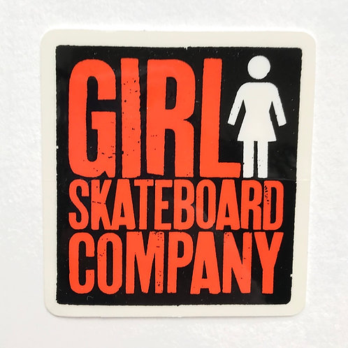 Another one off girl sticker for you, no more to add to that.