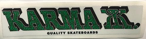 Karma Kizla Sticker