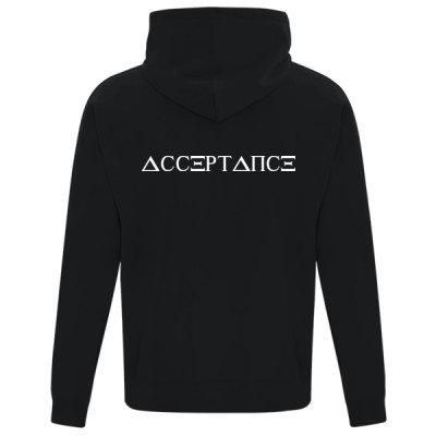 Unisex Zip Hoodie - ACCEPTANCE
