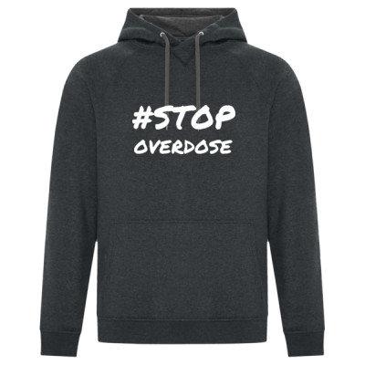 Premium Unisex Hoodie - #STOP OVERDOSE