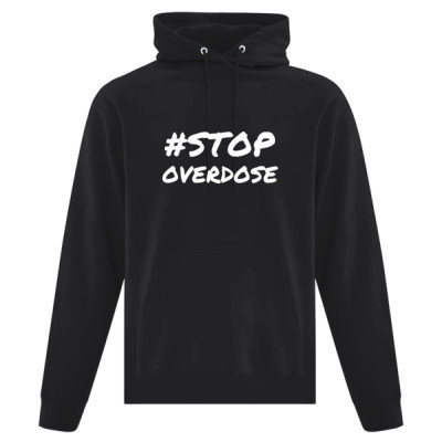 Classic Unisex Hoodie - #STOP OVERDOSE