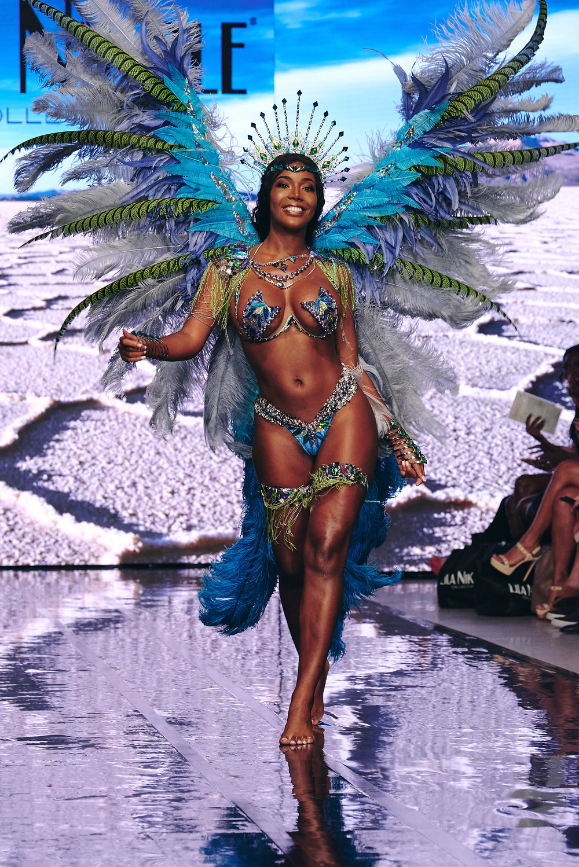 Miss Universe Curaçao for Lila Nikole Swimwear at Miami Swim Week, shot by Joe