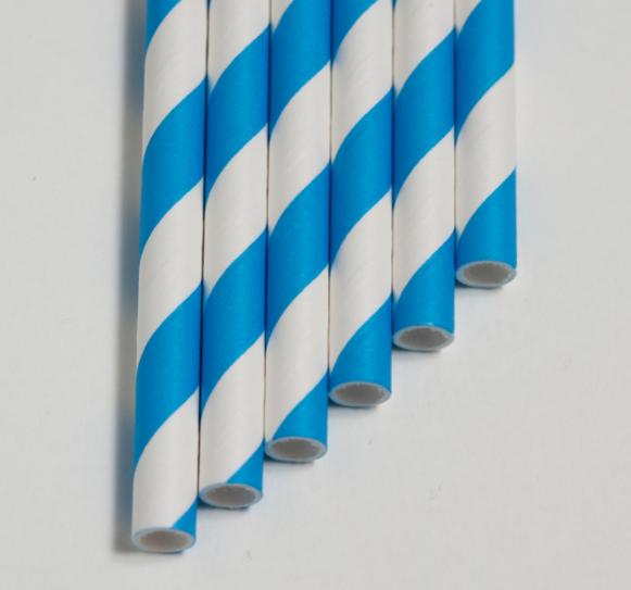 BLUE STRIPE STRAW PAPER GIANT KEVIDKO