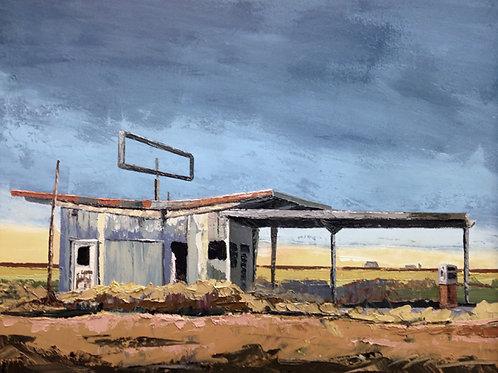 Print / Prairie House No. 23 (Still Out of Gas)
