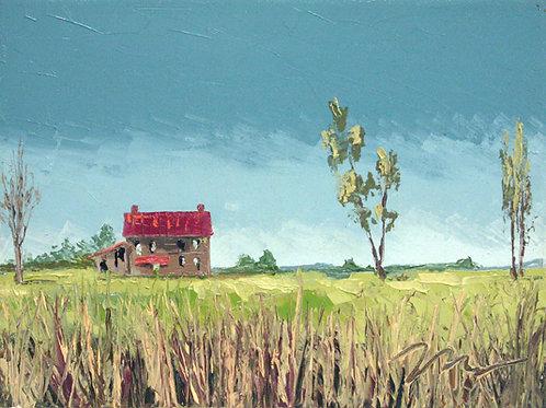 Print / Prairie House No. 14