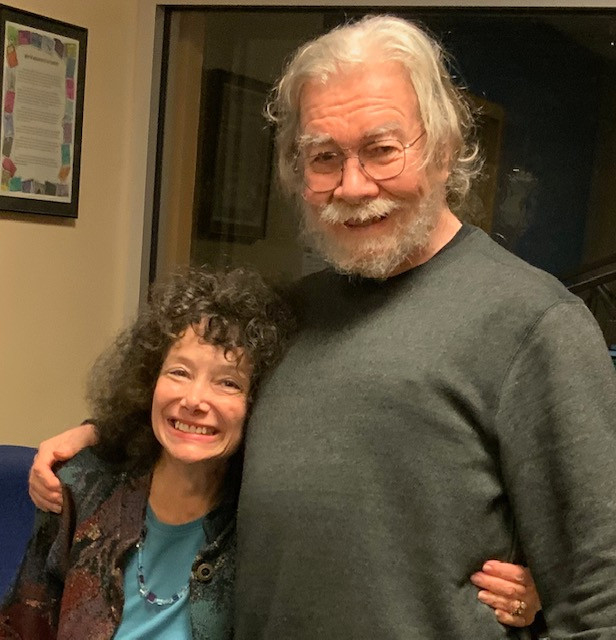November 7 on WPFW FM Jazz Radio 89.3 with Rusty Hassan our Jazz Specialist with 50 years in Jazz Radio, Professor at DCU and one of WDC's biggest Jazz Icons. He played my CD and we talked about life, jazz and my concert and return to the stage. What a lovely time we had catching up after all these years.