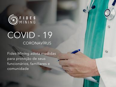 Contra o coronavírus   Medidas para proteção de seus funcionários, familiares e comunidade
