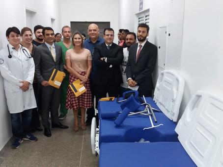 Fides Mining entrega equipamentos ao Hospital Regional de Peixoto de Azevedo.