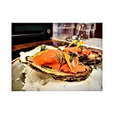 Amazing Scottish oyster, apple, horserad