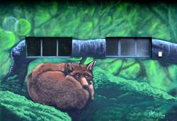 renard graffiti